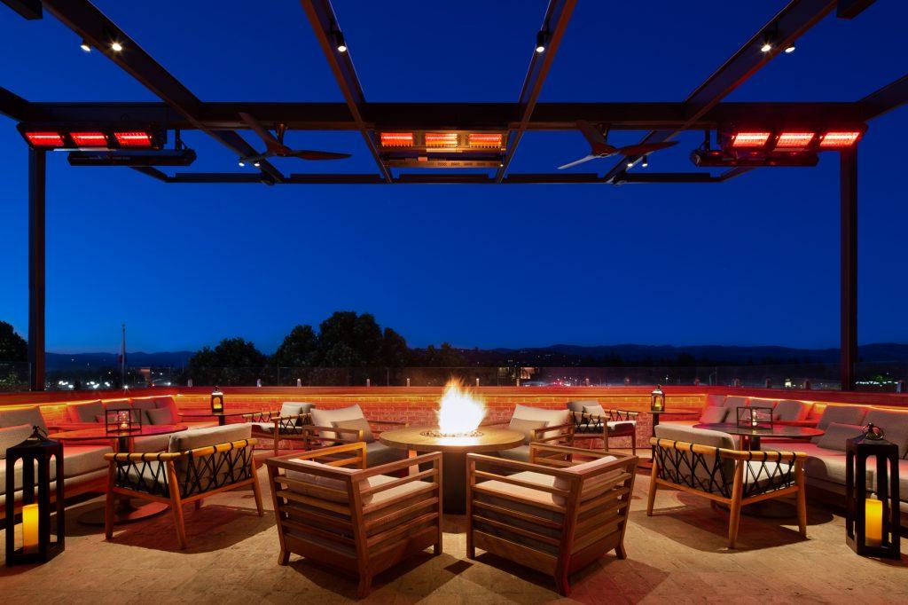Avow Napa Rooftop bar